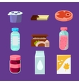 Common Goods and Everyday Products in Flat Style vector image vector image