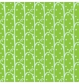 Green cactuses seamless pattern vector image