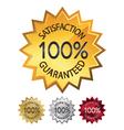 guaranteed seals set vector image