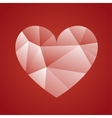 happy valentine day design vector image vector image