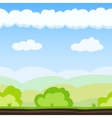 Meadow Game Background vector image