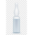 medical ampoule for injection stock vector image