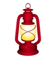 Red lantern vector image vector image