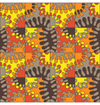 Seamless colorful abstract mod pattern vector image vector image