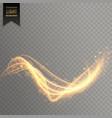 shiny shimmer light effect background vector image