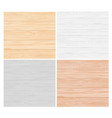 wood color texture pattern set vector image