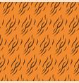 animal skin print pattern texture tiger stripe vector image vector image