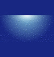 blue drops water background with light realistic vector image