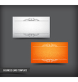 Business Card template set 63 vector image vector image