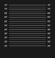 mugshot police police mugshot lineup vector image vector image