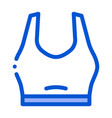 sport underwear icon outline vector image vector image