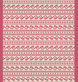 tribal seamless border pattern vector image