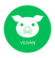 vegan free label food intolerance symbols vector image vector image