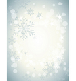winter soft background3 vector image vector image