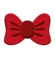single bowtie icon vector image