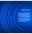 Blue business background presentation booklet vector image vector image