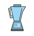 cartoon blender kitchen appliance vector image vector image