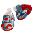 childrens shoes vector image