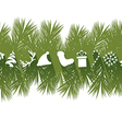 Flat Christmas Banner vector image vector image