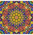seamless kaleidoscope pattern vector image vector image