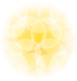 sunny bokeh effect vector image