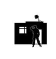watchman vector image vector image