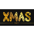 XMAS PARTY BANNER vector image