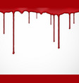 Background with blood vector image vector image