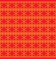 chinese seamless pattern minimal china style vector image