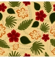 Hawaiian seamless pattern retro vector image vector image