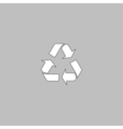 Recycling computer symbol vector image vector image