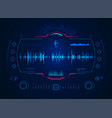 soundengineer vector image