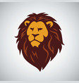africa wild lion logo vector image vector image