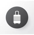 baggage icon symbol premium quality isolated vector image vector image