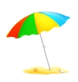 Beach parasol vector | Price: 1 Credit (USD $1)