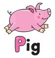 Children of little pig vector image vector image