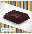 Chocolate icon design vector image vector image