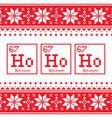 geek christmas seamless pattern ho ho ho chemistr vector image vector image