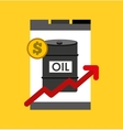 oil prices petroleum industry vector image vector image