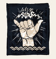Surf hand sign