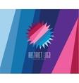 Sun summer and holiday Abstract logo vector image