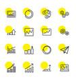 16 progress icons vector image vector image