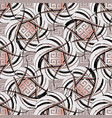 intricate greek key seamless pattern vector image