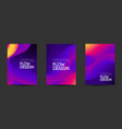 modern abstract design background flow vector image