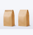 paper bag on white background brown shopping bag