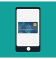 smartphone mobile payment app vector image