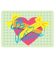 Valentine day love beautiful vector image vector image