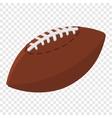 American football ball cartoon vector image