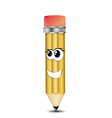 Pencil Cartoon Character vector image