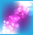 abstract light with color background vector image vector image